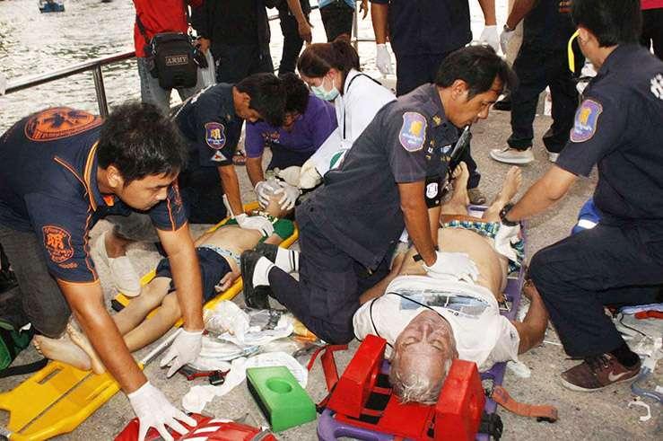 В Тайланде затонул паром с туристами: погибли 7 человек