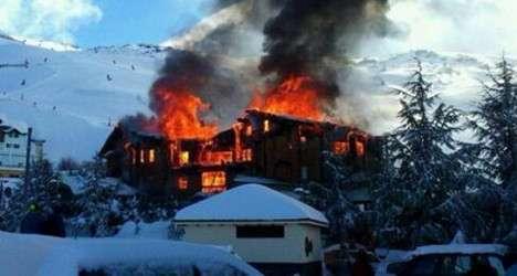 В Испании из-за россиян сгорел небольшой отель