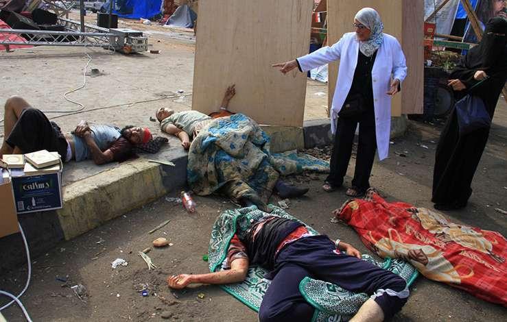 Беспорядки в Египте. Август 2013. Фото 2
