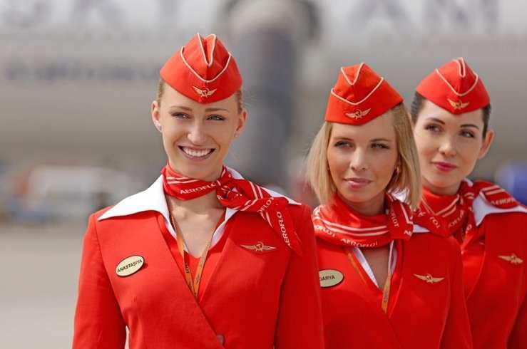 Стюардессы Аэрофлота – в десятке самых привлекательных в мире