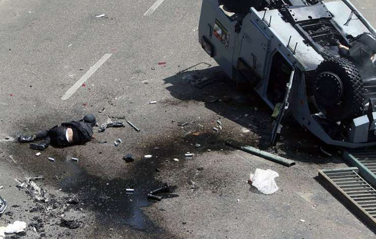 Беспорядки в Египте. Август 2013. Фото 8