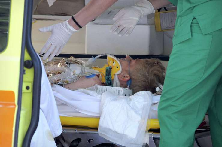 Никита после нападения