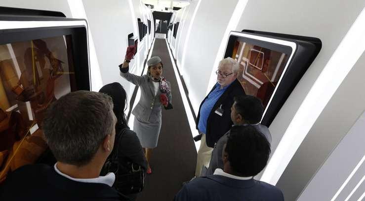Etihad Airways презентовала 2-х комнатный люкс на борту A380