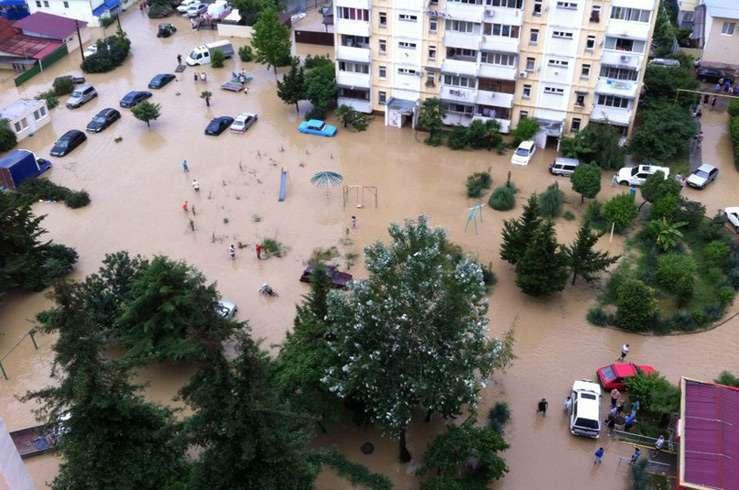 Наводнение в Сочи. Фото 3