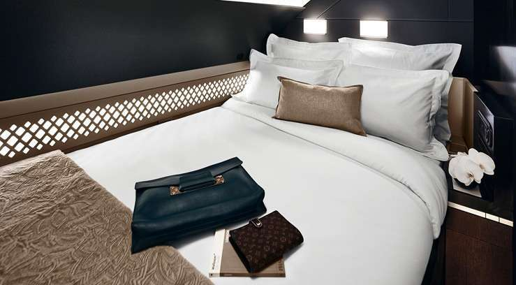 Etihad Airways презентовала 2-х комнатный люкс на борту Airbus A380. Фото 1