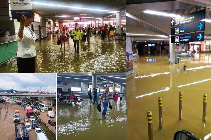 Наводнение в Сочи. Фото 1